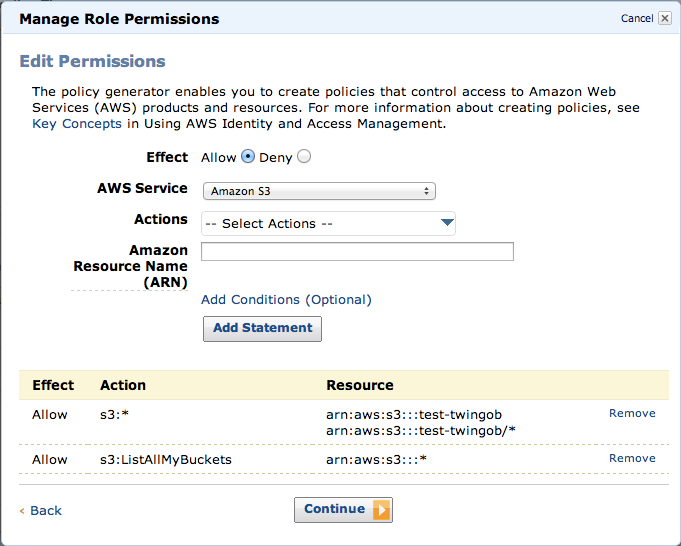 IAM roles for EC2 instancesを利用して、S3 Pre-signed URL生成